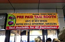 Prepaid Taxi from Bagdogra Airport