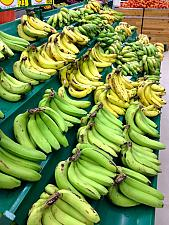 Banana Rack At Star Bazaar