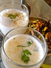 Cool Curd Chaach In summer