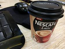 Nescafe Latte express cup