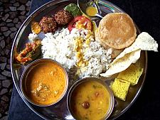 Thali At Harshgiri Resort Nasik Highway