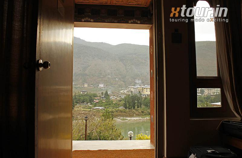 Punatshangchhu cottages River and Mountain view from Room