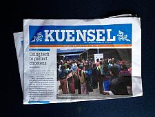 Kuensel Bhutan daily Newspaper