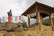 Prayer-wheel-near-taksang-cafe