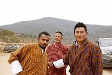 Men In Gho Bhutanese Traditional Dress for men