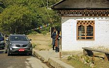 Punakha Route Permit Check Post