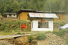 Punakha Route Permit Check Post While Returning