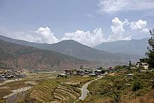 Punakha Top View